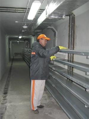 уборка помещения склада