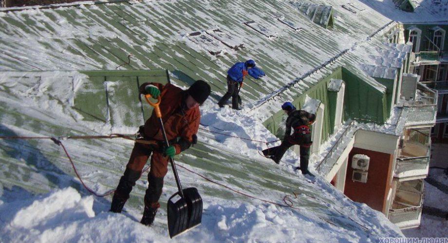 Устройство для чистки снега с крыш своими руками